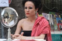 La performance di Patrizia Conti