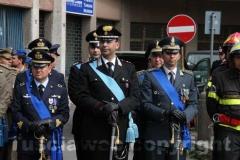 Al centro il colonnello Marco Bianchi