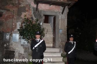 Omicidio di Sutri - L'intervento dei carabinieri