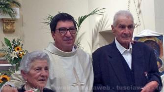 70 anni di matrimonio di Renato Tocchi e Agostina Tomarelli