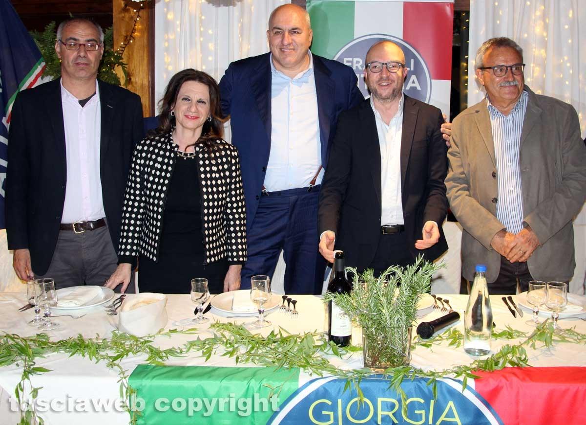 FdI - La cena con Guido Crosetto