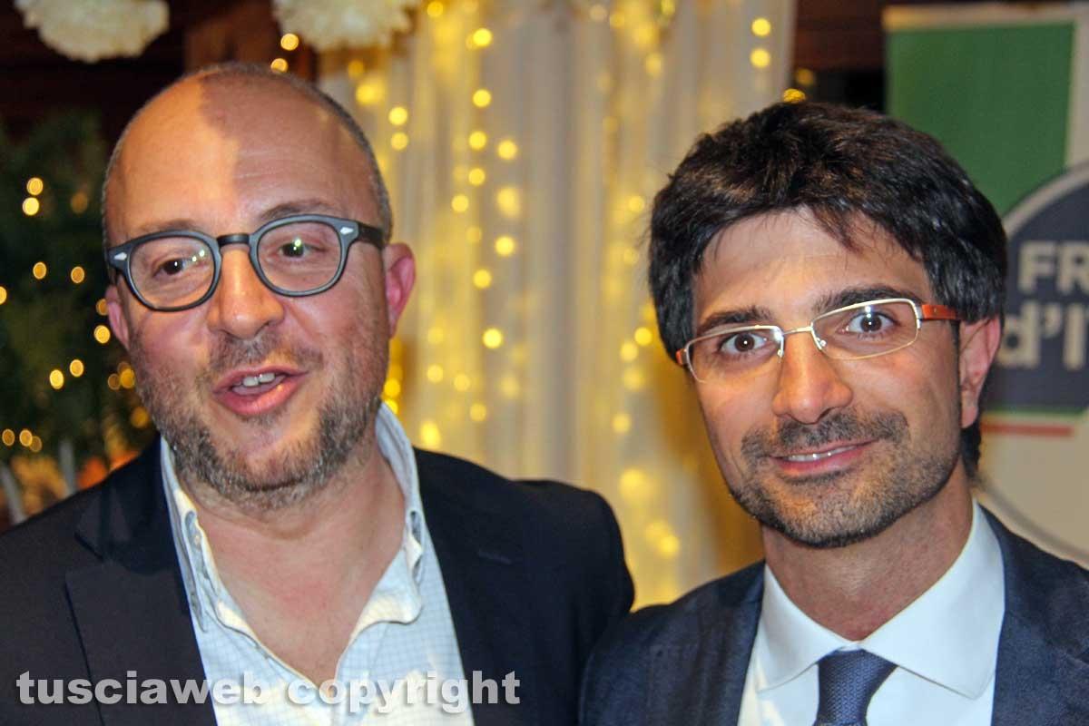 Mauro Rotelli e Daniele Sabatini