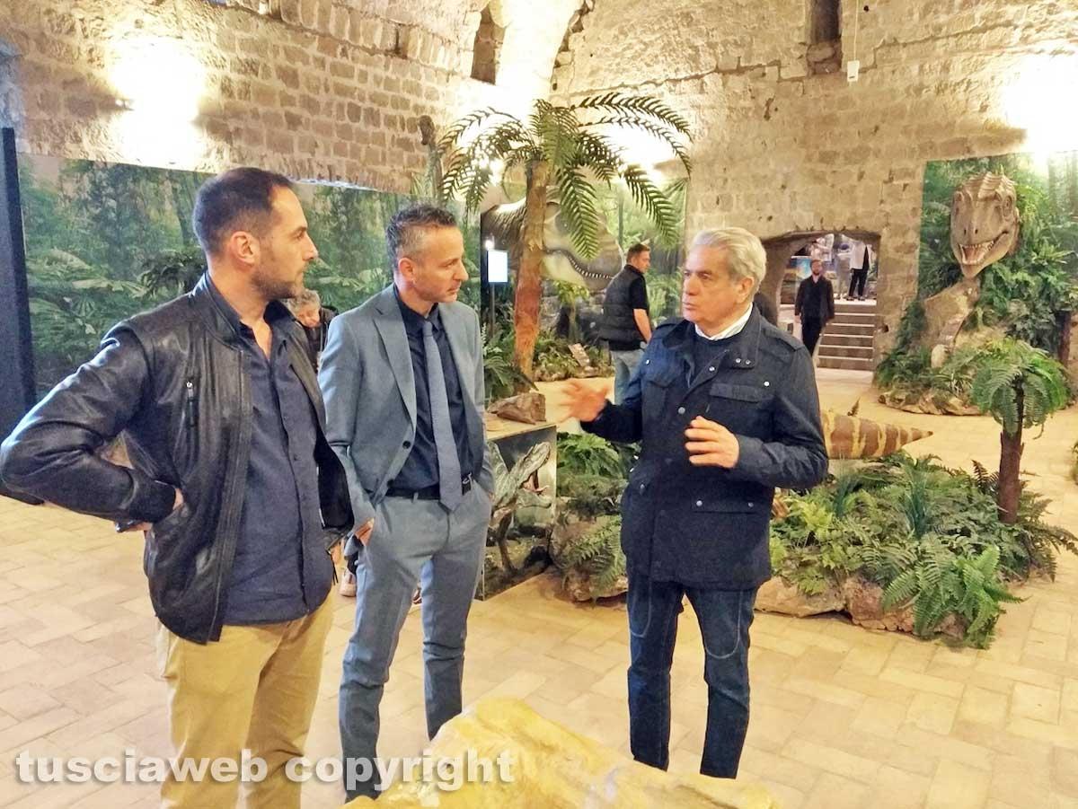 Viterbo - Davide Argentieri, Giovanni Arena e Daniele Mautone