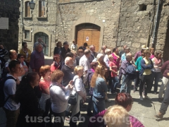 I turisti invadono Viterbo