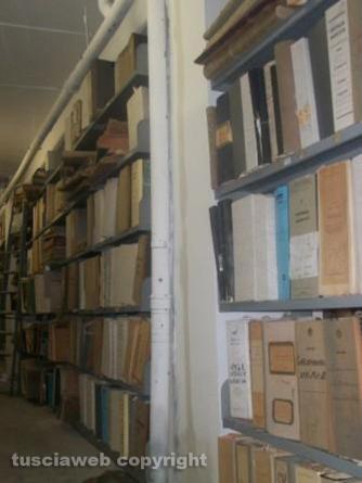 Allagamenti periodici all\'Archivio di Stato, tra nubifragi e infiltrazioni