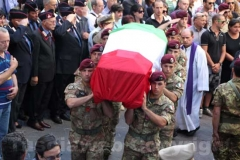 Caprarola - Il funerale di Roberto Marchini