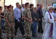 Caprarola - Il funerale di Roberto Marchini-1