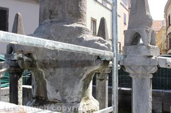 Fontana grande - Il cantiere