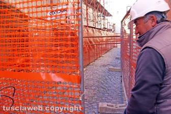 Al via i lavori di smontaggio in via La Fontaine