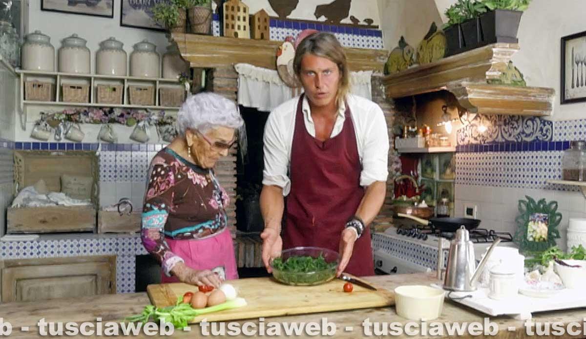 Alberto Mezzetti e nonna Pasqualina