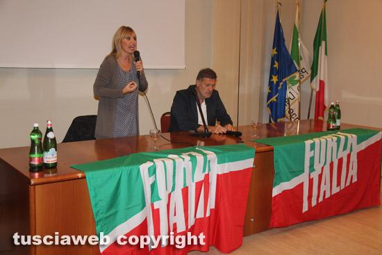 Alessandra Mussolini a Viterbo