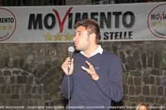 Viterbo - M5s - Alessandro Di Battista show
