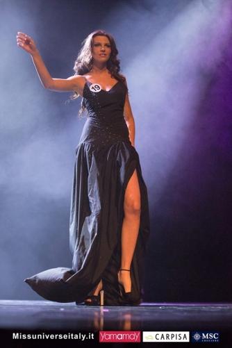 Alice Viglioglia a Miss Universo Italia - La sfilata delle Top10