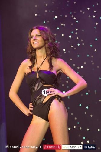 Alice Viglioglia a Miss Universo Italia