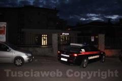 Allarme bomba a Equitalia - L\'intervento dei carabinieri