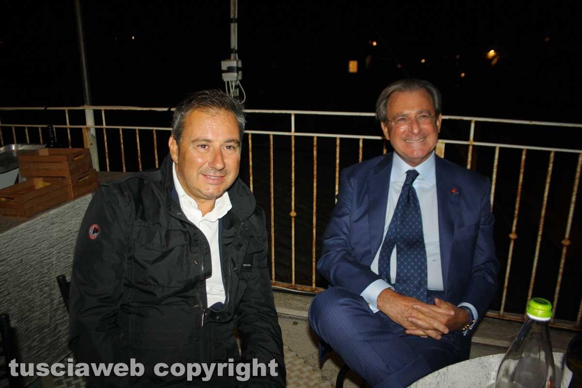 Unindustria - Filippo Tortoriello e Domenico Merlani, presidente Camera di commercio di Viterbo e presidente Ance Lazio