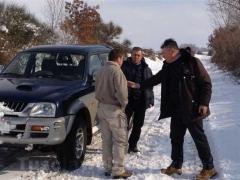 Anche le campagne sotto la neve - L\'imprenditore Calevi