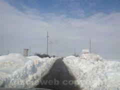 Anche le campagne sotto la neve