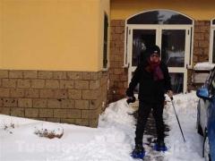Anche le campagne sotto la neve - Don Sergio