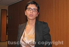 Angela Birindelli arriva in procura