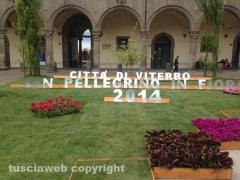 S. Pellegrino in Fiore 2014, l\'allestimento