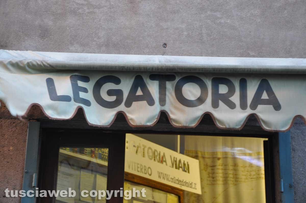 Viterbo - Antica legatoria Viali