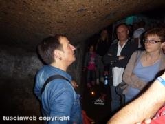 Antonello Ricci a Viterbo sotterranea