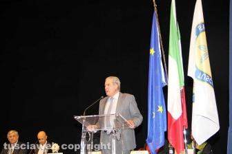 Antonio Tajani consegna le lauree all'Unitus