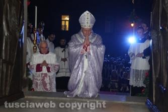Viterbo - Aperta la porta santa del Giubileo