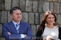 Gianmaria Santucci e Alessia Mancini