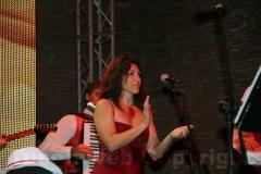 La solista Barbara Bonaiuto