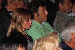Serena Autieri tra il pubblico