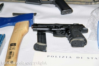 Armi, ordigni ed esplosivo: l'arresto di Denis Illarionov