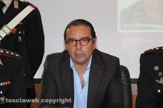 Omicidio del Riello - La conferenza stampa - Il pm Massimiliano Siddi