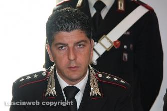 Omicidio del Riello - La conferenza stampa - Il capitano Giovanni Martufi, comandante del Nucleo investigativo