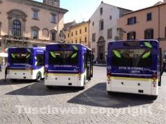 I tre bus elettrici