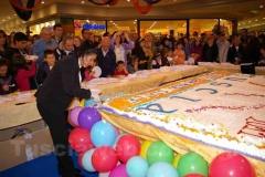 13esimo anniversario del centro commerciale Tuscia -Il Moralizzatore (Filippo Roma) e il Supermenestrello (Andrea Agresti)