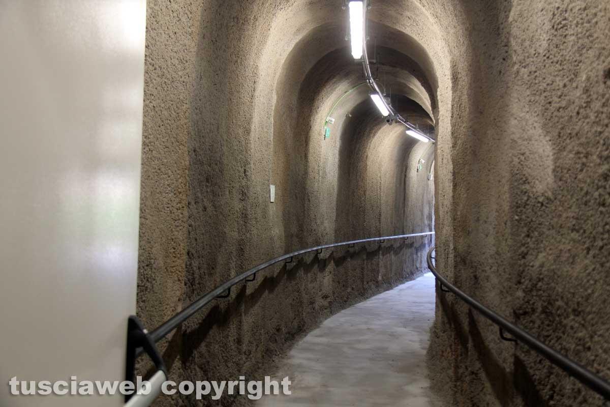 Ascensore, la fermata di via Sant'Antonio