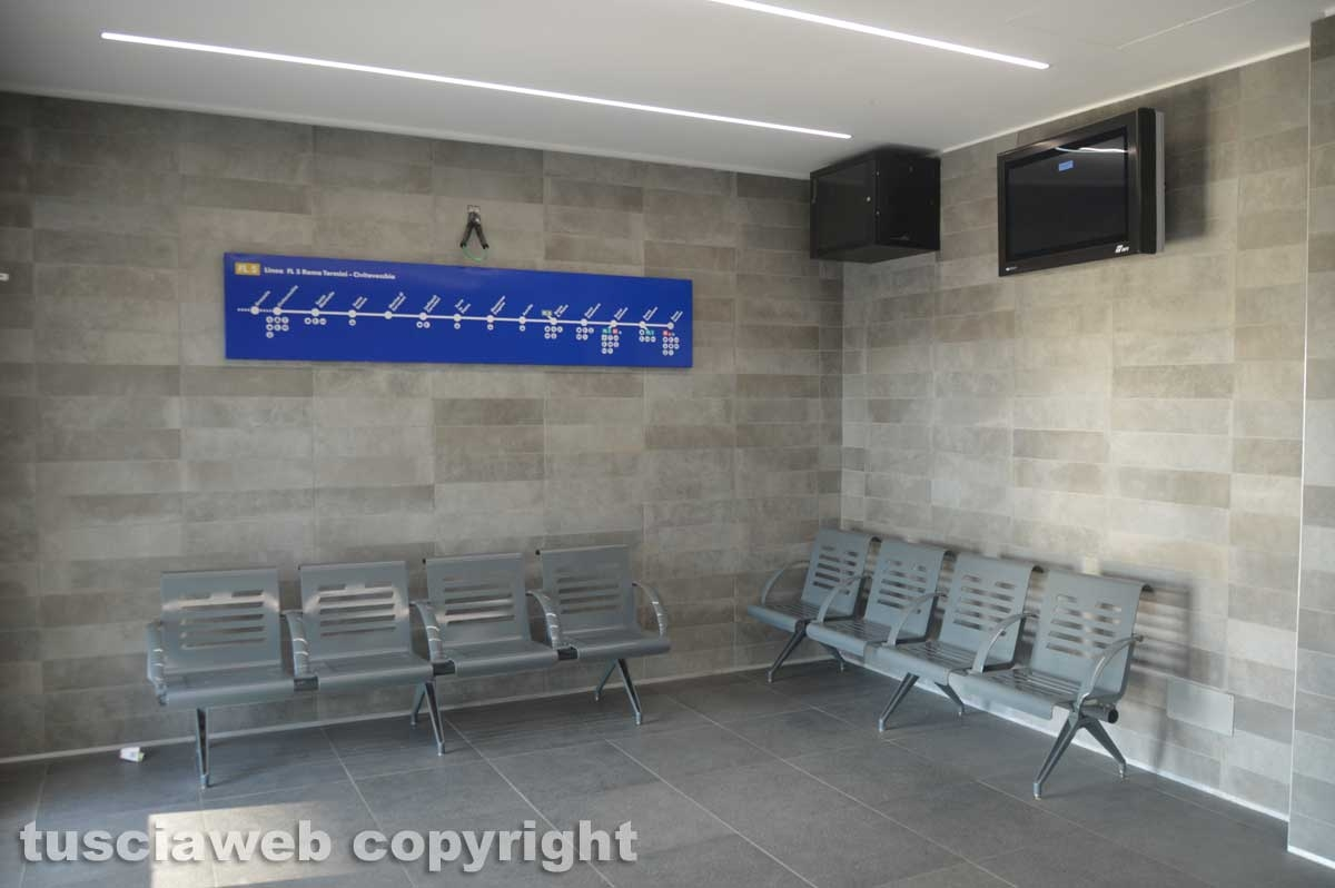 Stazione di Tarquinia - Sala d'attesa