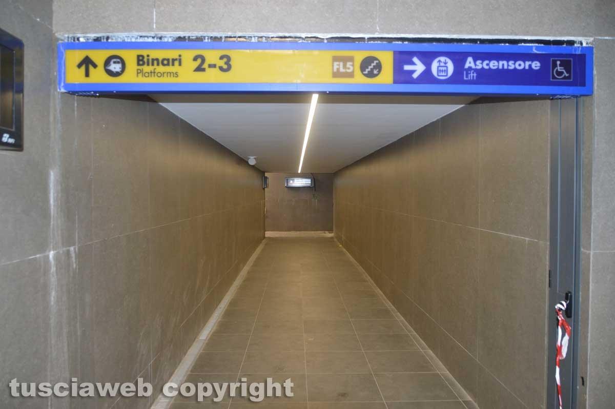 Stazione di Tarquinia - Sottopasso