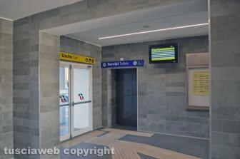 Stazione di Tarquinia - Bagni chiusi