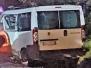 Auto contro furgone sulla Cassia nord