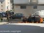 Auto in fiamme a via Montenero