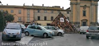 Bagnaia - Parcheggio selvaggio