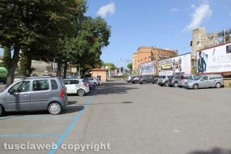 Viterbo - Il parcheggio di viale Capocci