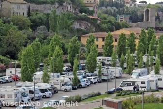 Viterbo - Il parcheggio di Valle Faul