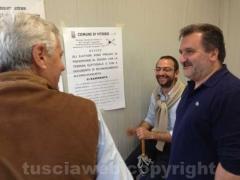 Leonardo Michelini con Panunzi ed Egidi