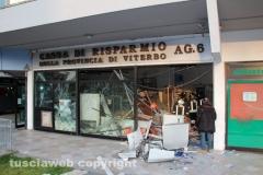 La filiale Carivit distrutta