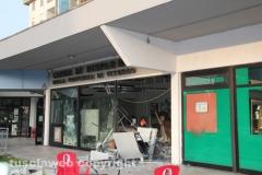La banca distrutta dai ladri