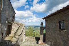 Bassano in Teverina - Vista dal centro storico